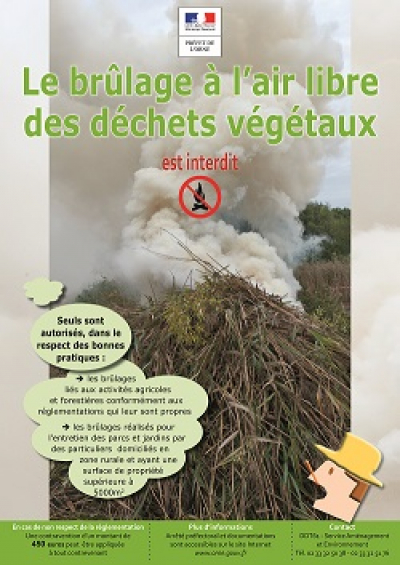 BRULAGE A L AIR LIBRE: INTERDIT